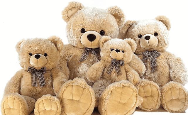 Мягкие игрушки в магазинах Москвы и СПб